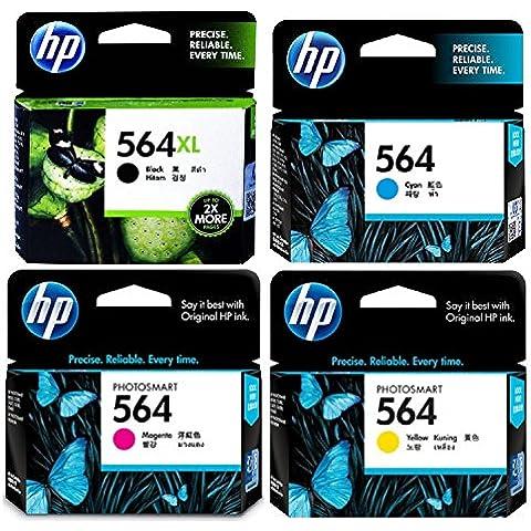 Stampanti HP 564XL, colore: nero#140 CN684WN HP 564 (#CD994FN 140)