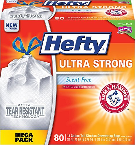 hefty-ultra-strong-trash-bags-scent-free-tall-kitchen-drawstring-13-gallon-80-count-by-hefty