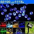 Yesurprise 100 blau solar LED Lichterkette Außen Beleuchtung Weihnachten Gartendekoration von Yesurprise.co.ltd - Lampenhans.de