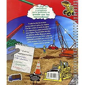 Mentes despiertas. Grúas y excavadoras (Vox - Infantil / Juvenil - Castellano - A Partir De 3 Años)