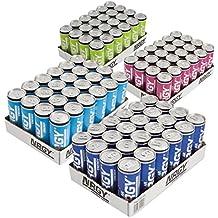 NRGY ® Energy Drink Probierset Partypaket in 4 Geschmacksrichtungen pfandfrei 96 Dosen