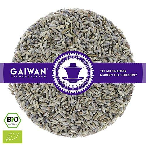 """N° 1161: Tè alle erbe biologique in foglie """"Fiori di Lavanda"""" - 500 g - GAIWAN® GERMANY - tisana alle erbe, tisane in foglia, tè bio, lavanda, Italia"""