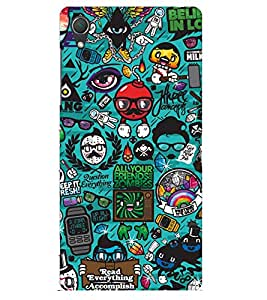 Doyen Creations Printed Back Cover For Sony Xperia Z3