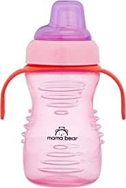 Amazon Brand - Mama Bear Soft Spout Sipper, Pink, 280 ml