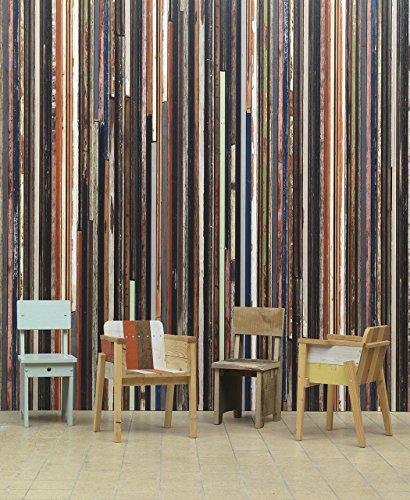 Leff Amsterdam Roll Wallpaper Scrapwood by Piet Hein Eek - Scrapwood Wallpaper