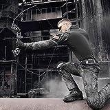 toparchery 40Lbs Archery Takedown Recurve Bow Right Hand Alloy Riser Fiber Li..