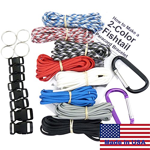 Pulsera Paracord Supervivencia & Proyecto Kit. 550 Cable