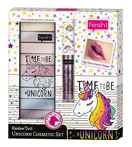 fesh! Rainbow Dust ‒ Unicorn Cosmetic Set, 10 Stück