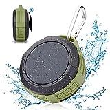 Best Crystal Case Bass Portable Speakers - Shower Speaker Wireless Outdoor Speakerphone - Hcman Enhanced Review