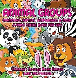 Ebooks Animal Groups (Mammals, Reptiles, Amphibians & More): Jumbo Science Book for Kids   Children's Zoology Books Edition Descargar Epub