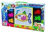 Lustiges Mosaikspiel für viele Stunden Beschäftigung - 210 Mosaikstecker!