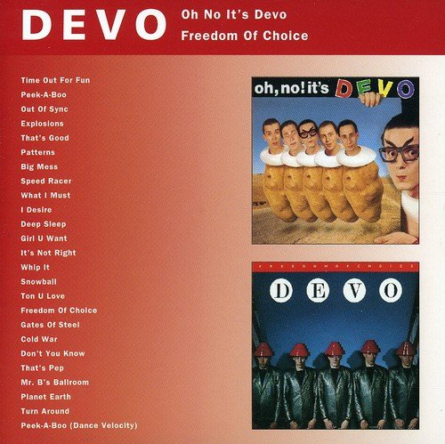 Devo: Oh No It's Devo/Freedom of Choice (Audio CD)