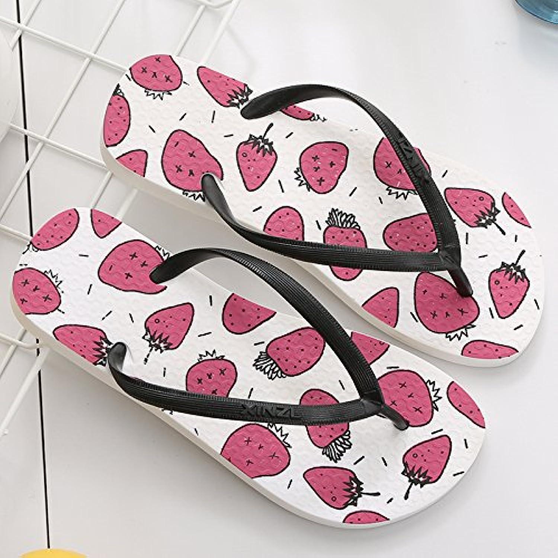 CWJDTXD Zapatillas de verano Chanclas de verano para mujer al aire libre de viaje ocio zapatillas de playa luz...