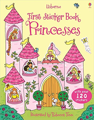 First Sticker Book Princesses (First Sticker Books)