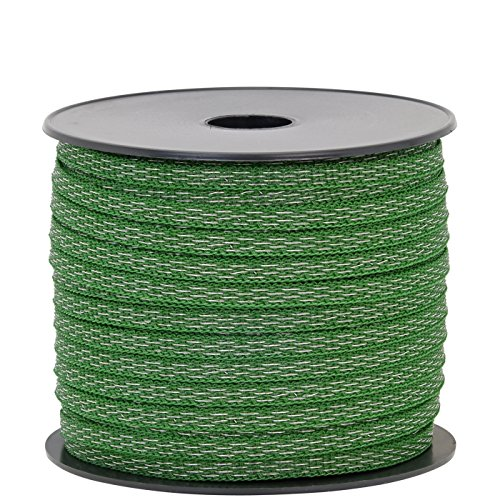 Elektrozaun Band VOSS.PET 125m, 7mm, 4x0,20 TLD, grün
