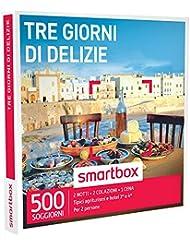smartbox - Cofanetto Regalo - Tre Giorni di DELIZIE - 500 soggiorni di Gusto in agriturismi e Hotel 3* o 4*