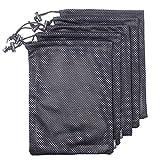 Set di 5nylon mesh Storage Ditty bag sacca per viaggi e attività all' aperto