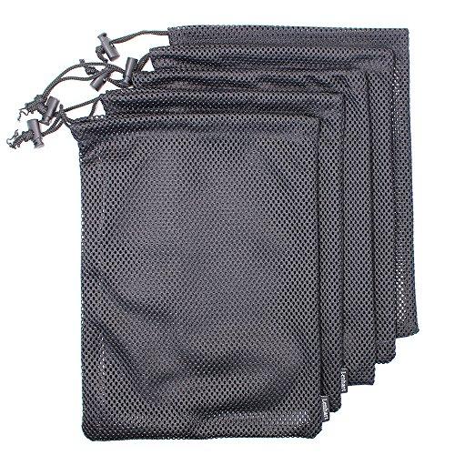 Set von 5nylon Mesh-Ditty Stuff Sack für Reise- und Outdoor-Aktivitäten (Nylon-gepäck-set 3 Stück)