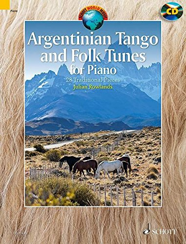 Argentinian tango and folk tunes for pia...