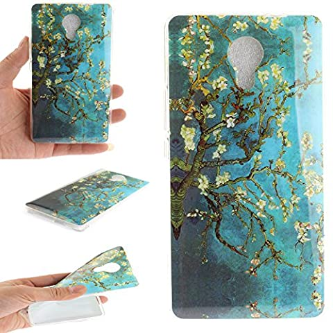 Wiko Robby Case,Cozy Hut Ultra Slim Back Protective Case Cover Soft TPU Case [Scratch-Resistant] Clear Slim Fit TPU Protective Case Cover For Wiko Robby,Unique Art Pattern Tiger Wolf Panda Dragon and Dandelion flower Butterfly owl Cute Animal Cartoon Floral Case for Wiko Robby 5,5 Inch -