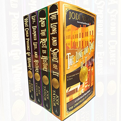 Chronicles of st.mary's series jodi taylor series 2 :4 books collection set (what could possibly go wrong?, lies, damned lies, and history, and the rest is history,the long and short of it)