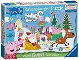 Ravensburger UK 5534Peppa Pig Weihnachten Puzzle mit Tür Aufhänger