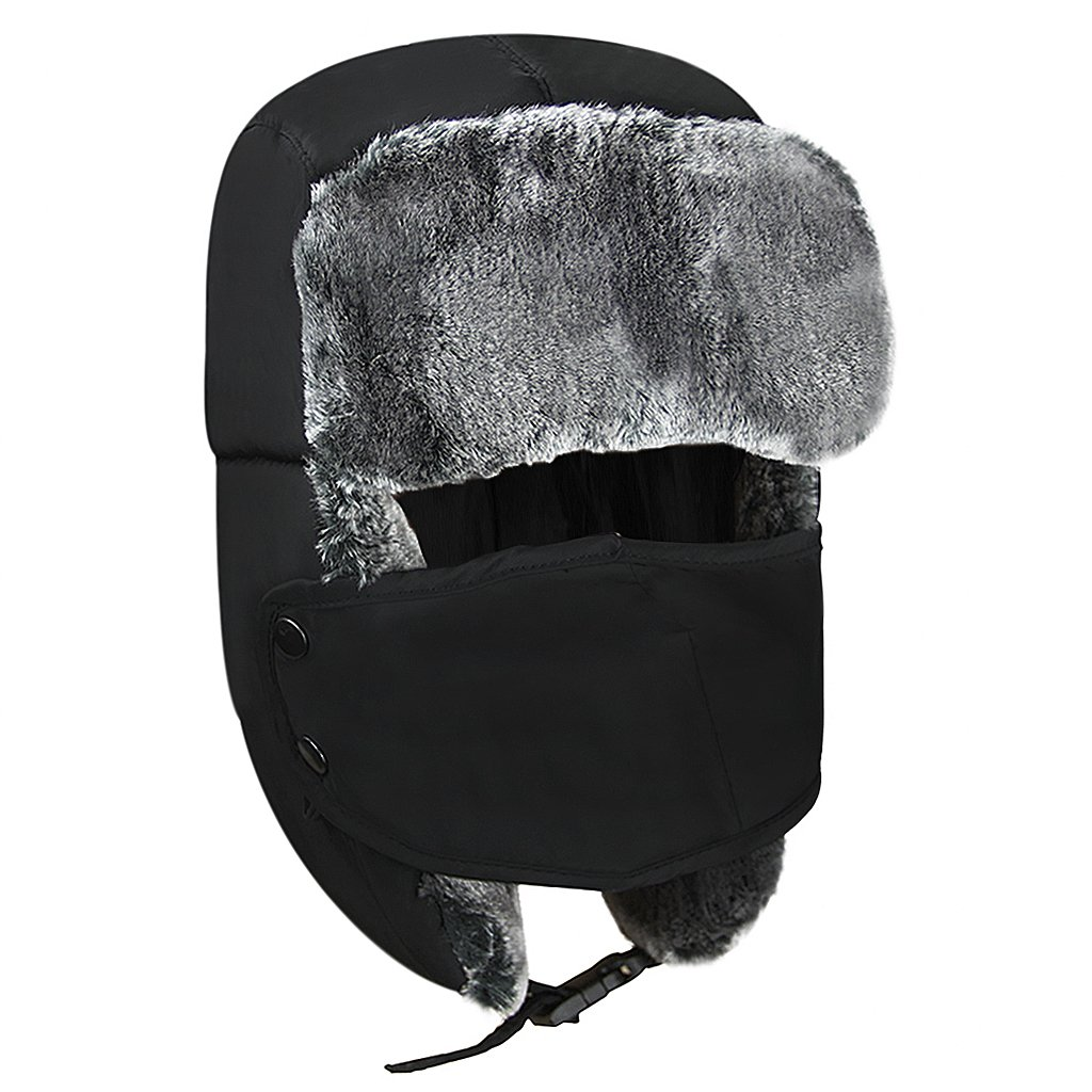 a464e83695d Kid Trapper Hat Children Winter Bomber Hat with Earflap Girl Boy ...