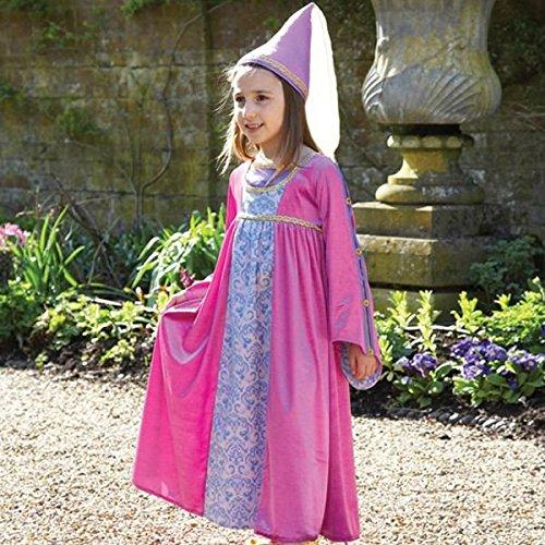 Renaissance Maiden Kind Kostüm - Renaissance Prinzessin Kostüm bis BNWT 3-11Jahre