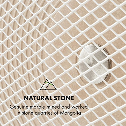 Klarstein HeatPal Marble • Infrarot-Heizpanel • Infrarot-Heizung • Wärmespeicher Bild 6*
