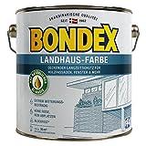 Bondex Landhaus-Farbe 0,75l lichtgrau - 391304