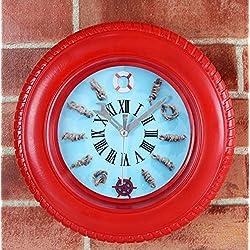 XWAN-La alarma del reloj de escritorio Sit Mediterráneo Reloj multifunción reloj neumático silencio