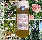 200ml Dekubitus - Pflegeöl (Anti-Dekubitus-Hautöl) - zur unterstützenden Vorbeugung von Druckstellen und leichten Wunden durch Wundliegen und Bettlägerigkeit, Hautpflege in der Altenpflege und Krankenpflege. Naturprodukt.