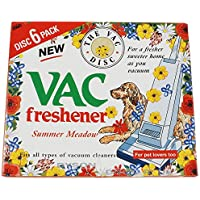 Qualtex Vacuum Cleaner Air Freshener Disc, Pack of 6 - ukpricecomparsion.eu
