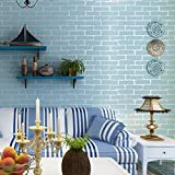LIGYM Non Woven Wallpaper, 3D Brick Pattern, Living Room, Bedroom, TV Set, Wallpaper