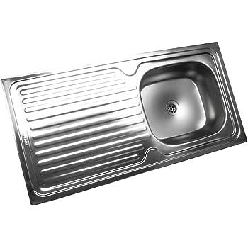 Edelstahl Küchenspüle Edelstahlspüle Einbauspüle Küchen Spüle ...