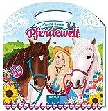 Maltasche Meine bunte Pferdewelt: Mit 140 Stickern