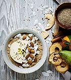 meinpaleo Power Porridge aus kontrolliert biologischem Anbau ● APFEL-ZIMT oder SCHOKO ● Glutenfrei ● Vegan ● Ohne raffiniertem Zucker (APFEL-ZIMT, 2 x 250 GR)