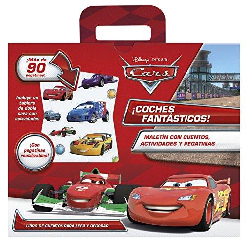 Cars. ¡Coches fantásticos!: Maletín con cuento, actividades y pegatinas (Disney. Cars)