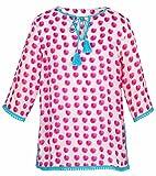 Snapper Rock Girl 's el color del agua lunares caftán–Rosa, 7–8Años,...