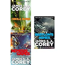 Expanse series 2 vol (4 to 6 ) books collection set by james s. a. corey