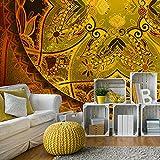 murando - Fototapete Mandala 400x280 cm - Vlies Tapete - Moderne Wanddeko - Design Tapete - Wandtapete - Wand Dekoration - Orient f-A-0612-a-c