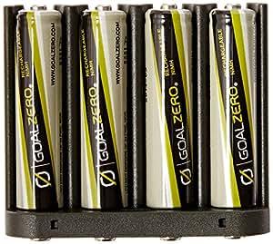 Goalzero Akkumulator AAA Batteries and Adapter Pack, Silber, 11407