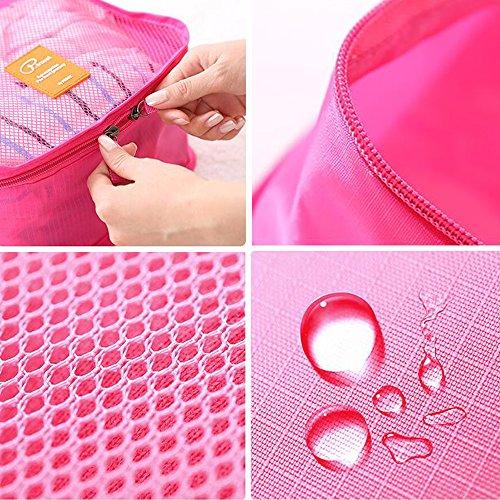 KT-SUPPLY , Kofferorganizer, Rose (rosa) - Storagebag01Pink