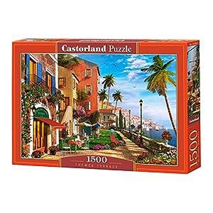 CASTORLAND Themed Terrace 1500 pcs Puzzle - Rompecabezas (Puzzle Rompecabezas, Ciudad, Niños y Adultos, Niño/niña, 9 año(s), Interior)