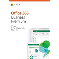 Microsoft Office 365 Business Premium |1 Person / 5PC | 12-Month Subscription (CSP-Microsoft India)