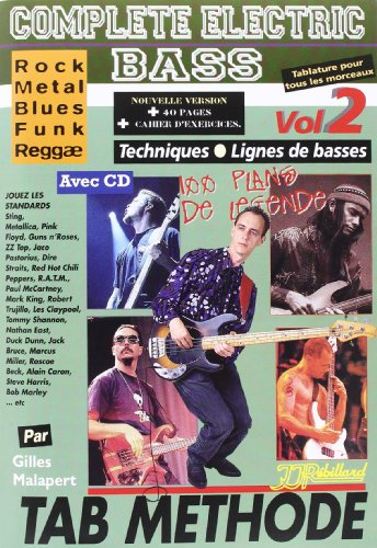 Complete Electric Bass Vol.2 Tablatures ...