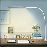 Lampe de Bureau à LED Hokone Lampe de Travail 9W Lampe de Table Lampe Architecte a pince 3 Modes de Couleur Flexible 360…