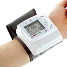 AST Works Automatic Health Care Arm Meter Pulse Wrist Blood Pressure Monitor Sphygmometer