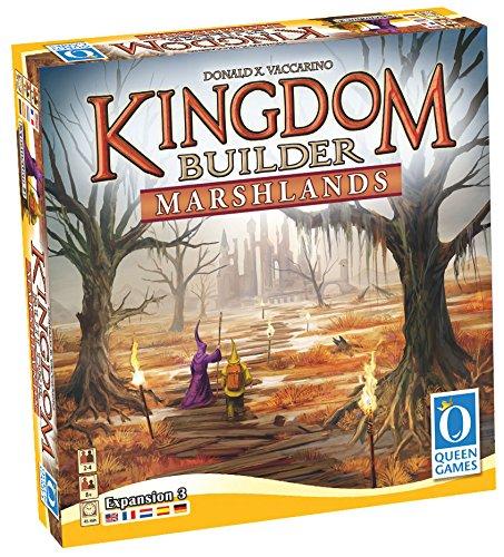 Preisvergleich Produktbild Queen Games 10072 - Kingdom Builder Erweiterung 3: Marshlands Brettspiel