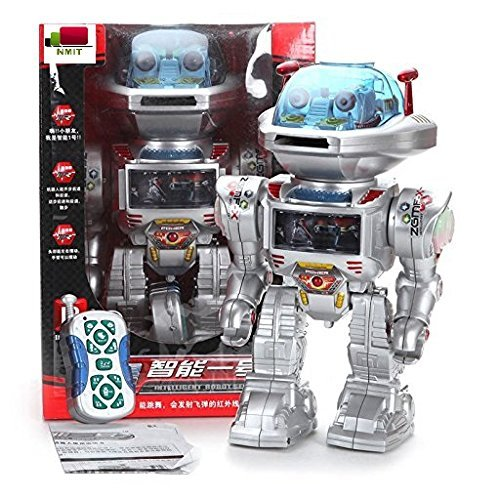 NMIT-I-ROBOT-RC-Remote-Controlled-Toy-Robot-Shoots-Frisbees-Dances-Talks-Walks-with-Sounds-and-Lights